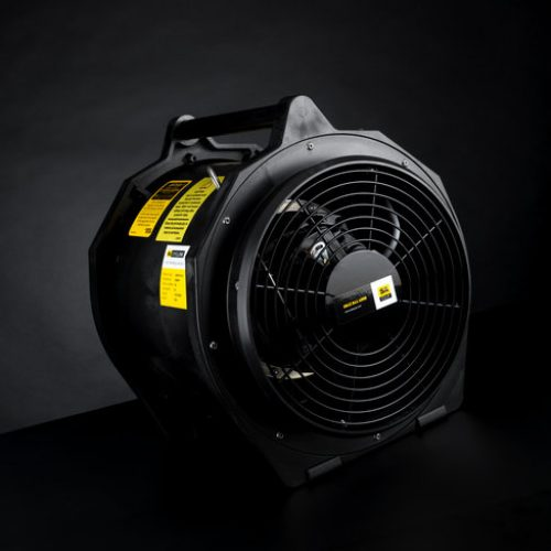 Intrinsically Safe Electric Fans : Atex ventilation equipment professional safety services