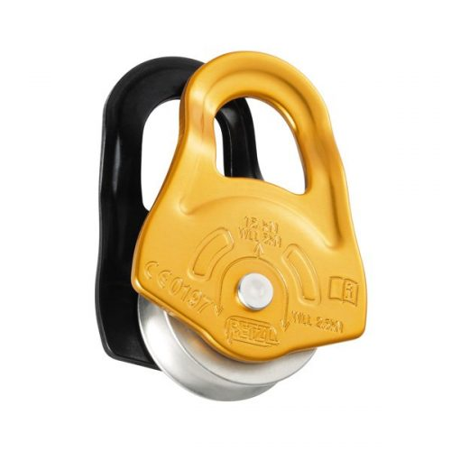 Petzl PARTNER Ultra compact, high efficiency pulley