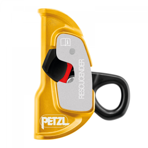 Petzl RESCUCENDER Cam-loaded rope clamp