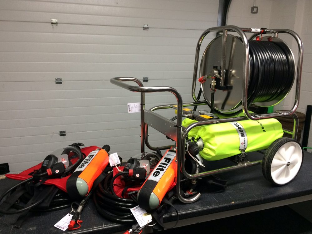 Hire 3M Scott Modulair 2 Man Airline Trolley System