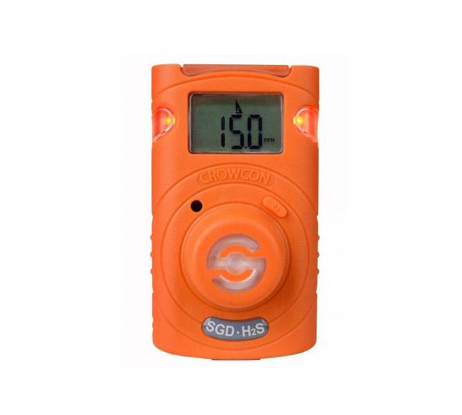 Crowcon Clip SGD-H2S Gas Detector 2yr Hydrogen Sulphide