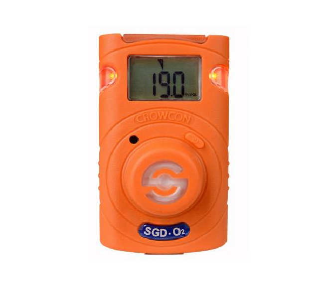 Crowcon Clip SGD-O2 Gas Detector 2yr Oxygen