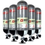 Scott CYL-FWC379-60M 7.6 litre 379bar carbon fibre cylinder