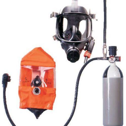 Scott ELSA-Muster-PPM Positive Pressure Emergency Escape Device