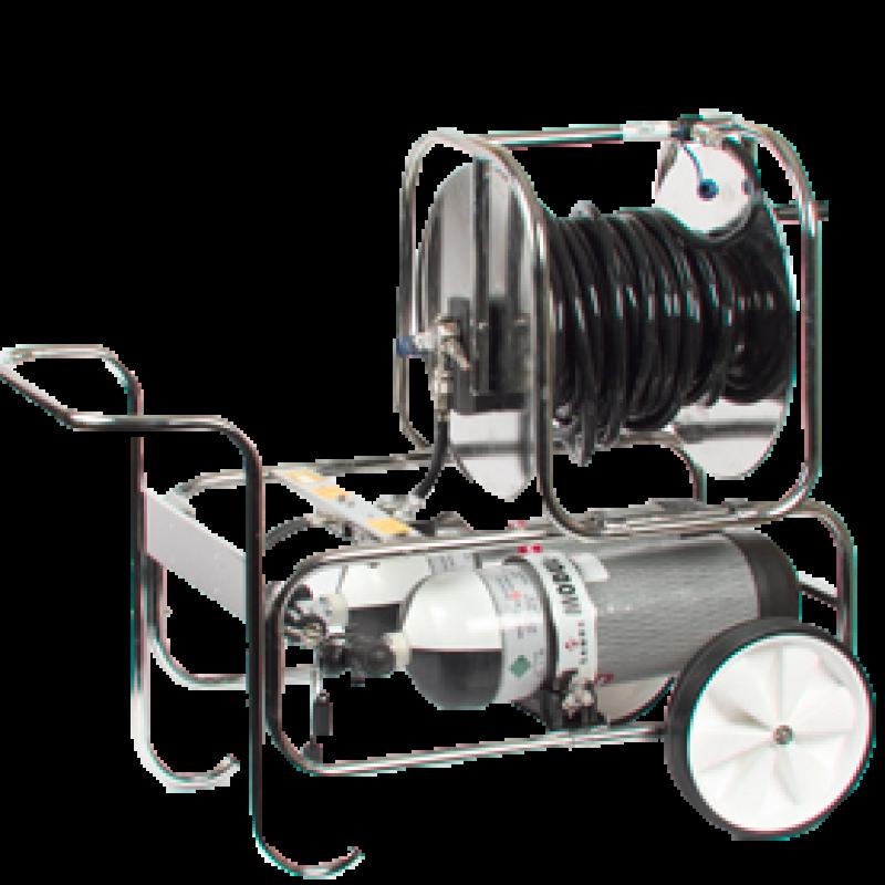 Scott MODULAIR M-FRM-4-4-HRT Air supplied trolley unit