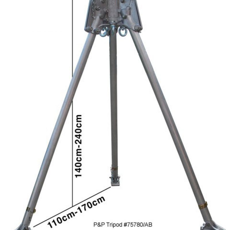 P+P 75780-AB Two Person Tripod