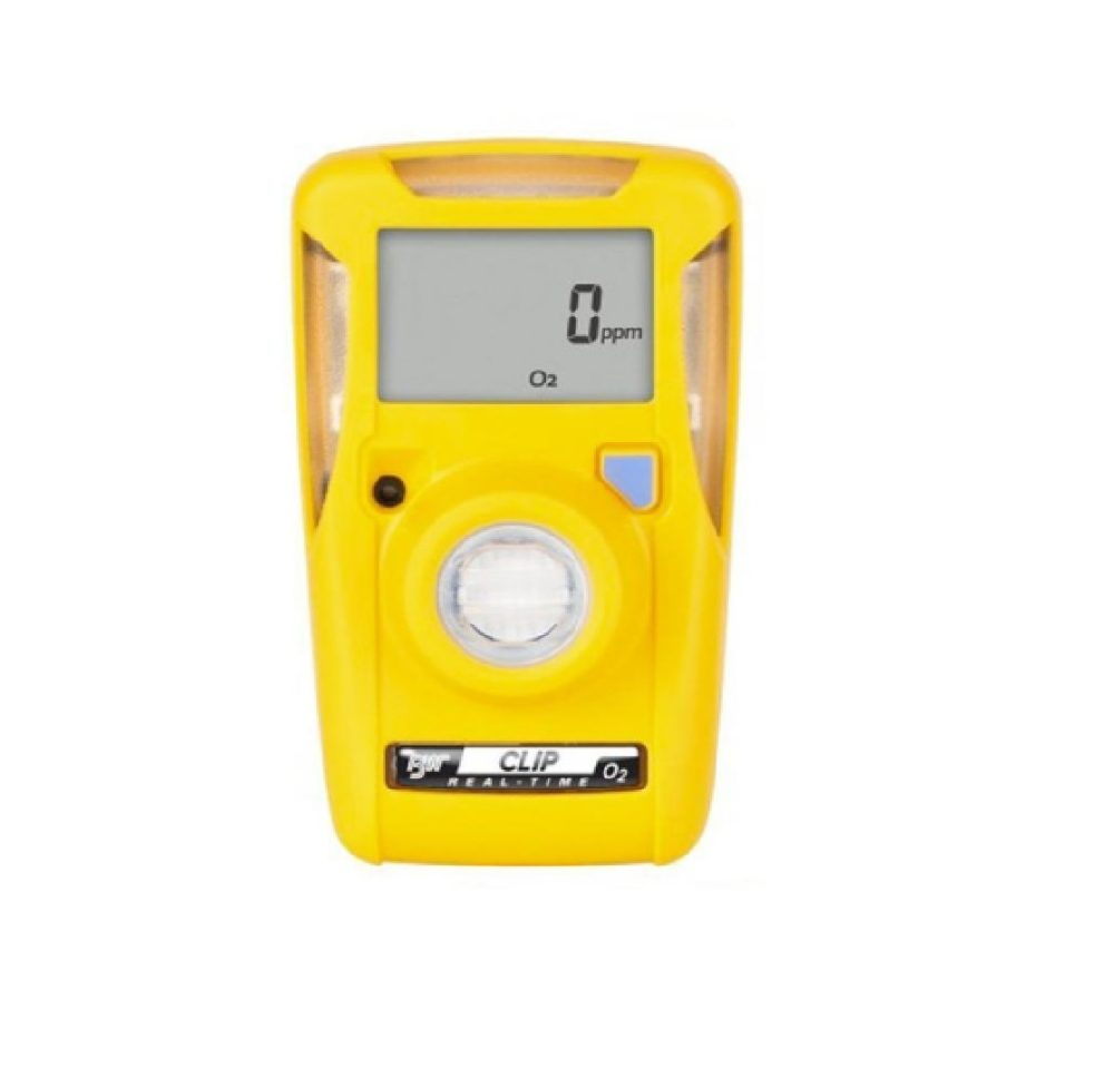 Honeywell BW Clip O2 Single Gas Detector 2yr Oxygen