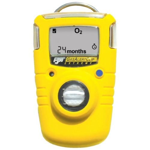 BW Clip SO2 Single Gas Monitor 2yr Sulphur Dioxide