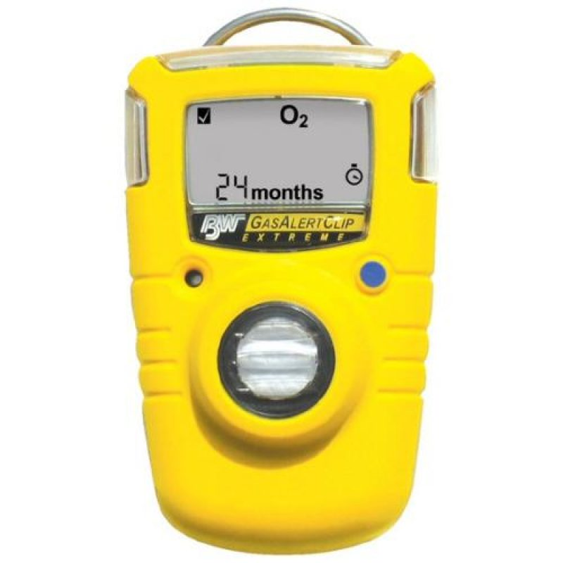 BW Clip SO2 Single Gas Monitor 2yr Sulphur Dioxide