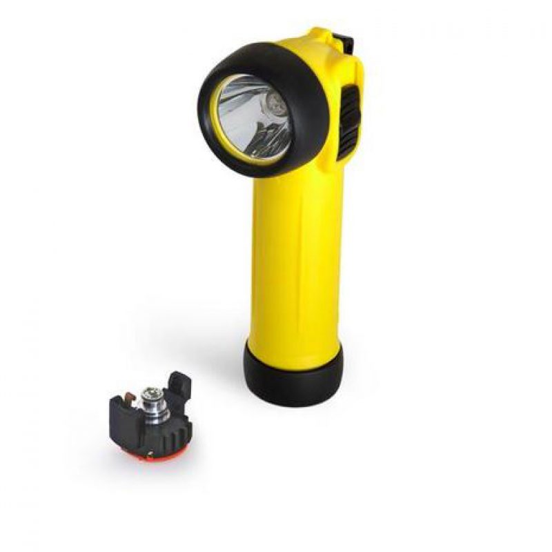 Hire Wolf TR30+ LED ATEX Right Angled Torch (per week)