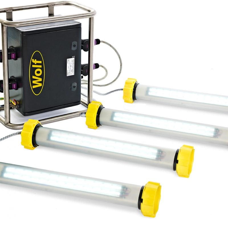 Wolf LinkEx ATEX Tank Lighting Kit Hire