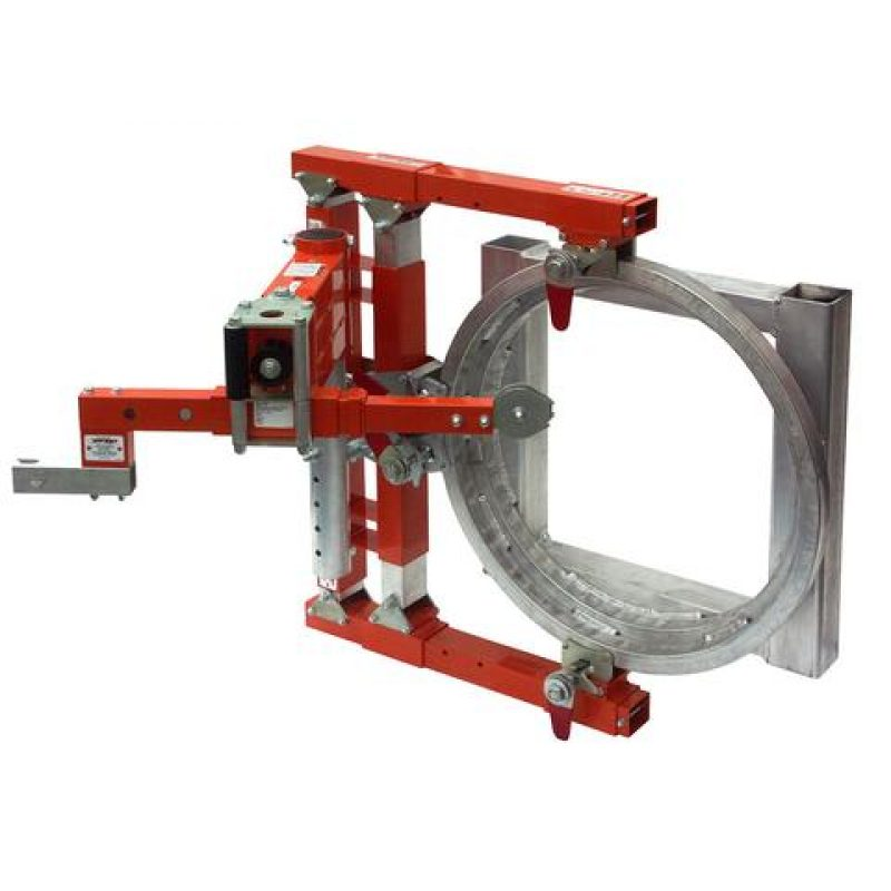 Tuff Built Horizontal Side Entry Davit with Adjustable Tank Collar