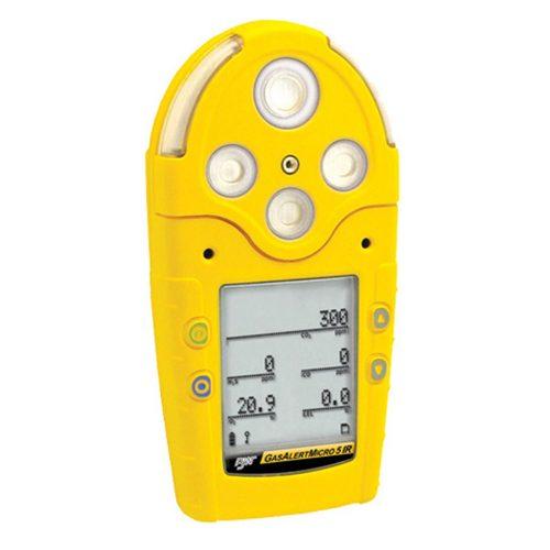 BW GasAlertMicro 5 IR Multi Gas Monitor LEL H2S CO O2 CO2