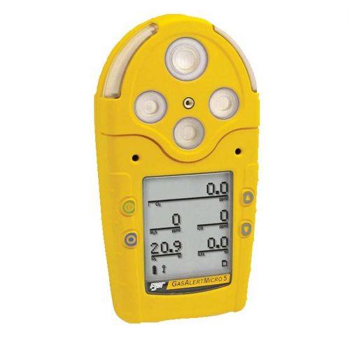 BW GasAlertMicro 5 Multi Gas Monitor LEL H2S CO O2 SO2