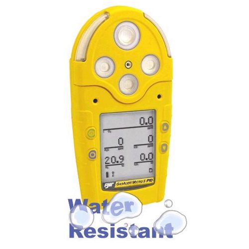 BW GasAlertMicro 5 PID Multi Gas Monitor LEL H2S CO O2 VOCs