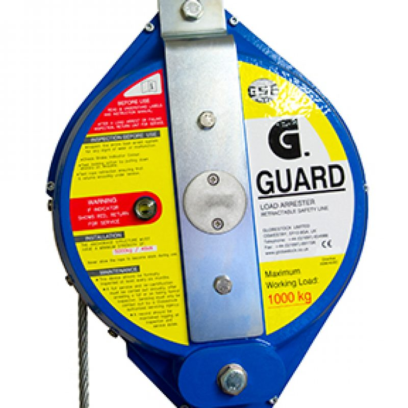 Globestock G-Guard 1000-1-7G 1000kg 7M Load Arrest Block