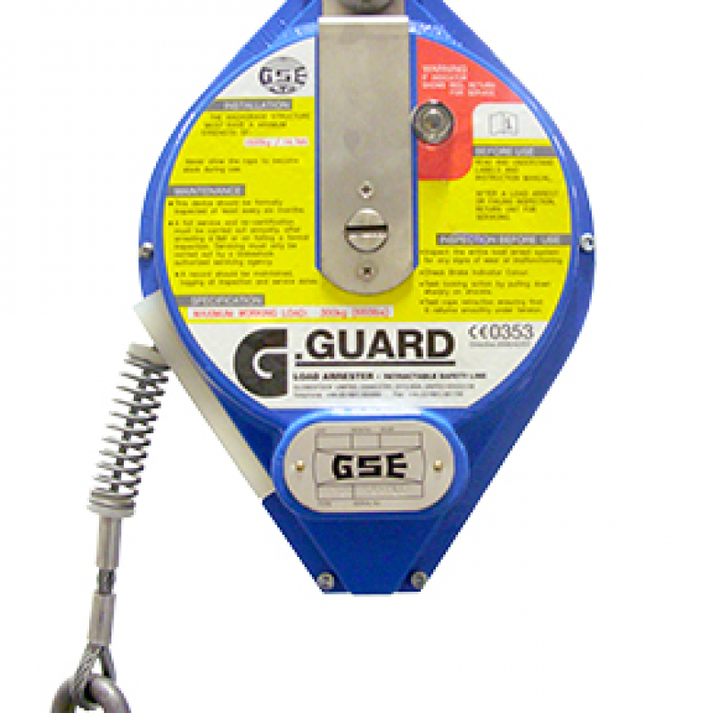 Globestock G-Guard 300-1-10G 300kg 10M Load Arrest Block