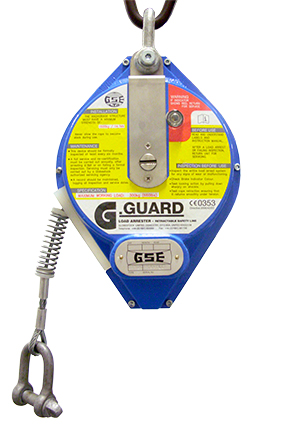 Globestock G-Guard 300-1-12G 300kg 12M Load Arrest Block