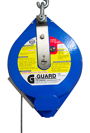 Globestock G-Guard 500-3-10G 500kg 10M Load Arrest Block