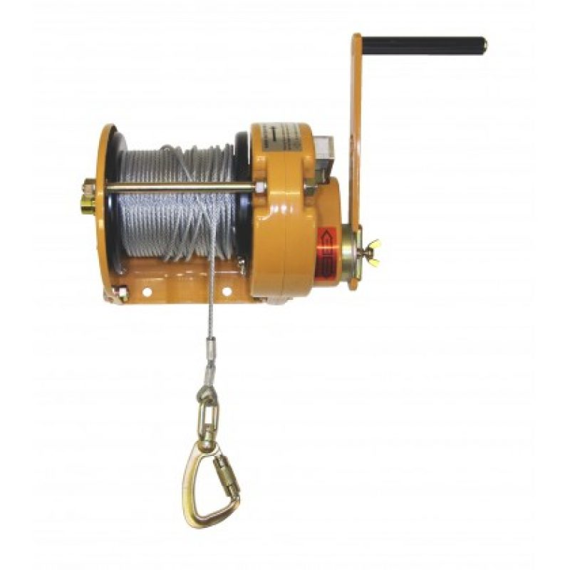 Ridgegear RGR7 50M Man-Riding Winch