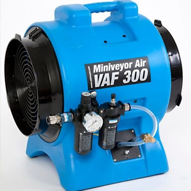 Miniveyor Air VAF-300P-FRL Air Driven Exhaust Blower