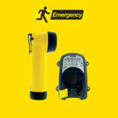Wolf Safety ATEX Rechargeable Torch