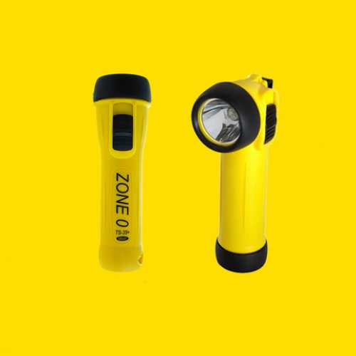Wolf Safety ATEX Safety Torch with LED