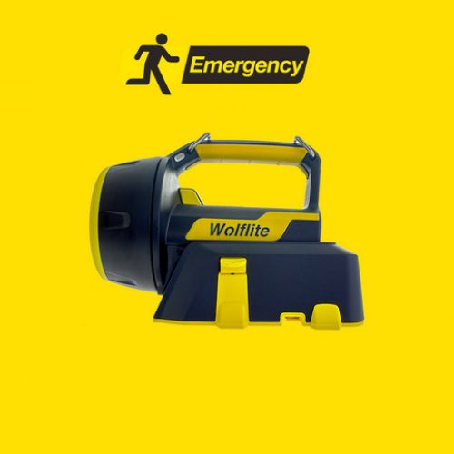 Wolf Safety ATEX WOLFLITE XT Rechargeable LED Hand Lamp