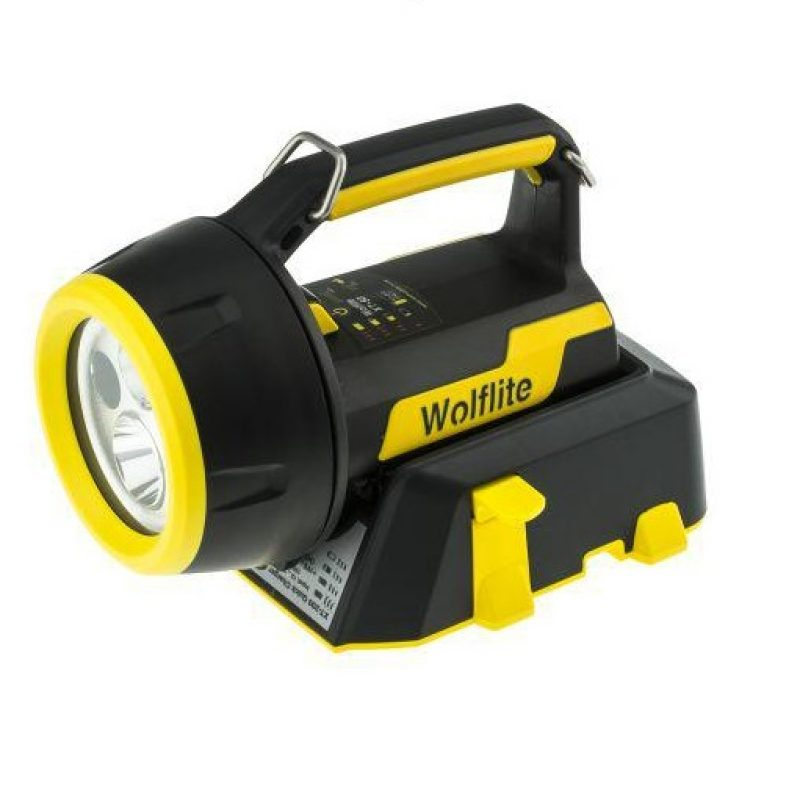 Wolf Safety XT-50H LED ATEX Rechargeable Hand Lamp
