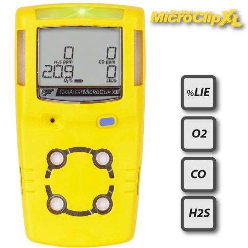 BW GasAlertMicroClip XL Multi Gas Monitor