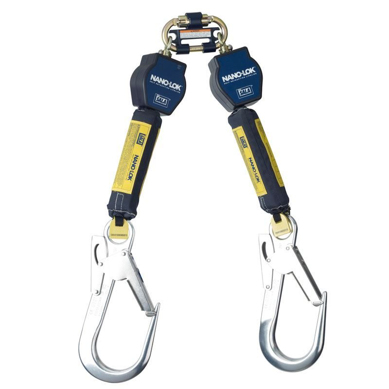 DBI-SALA Nano-Lok 3101298 Self Retractable Webbing Lanyard