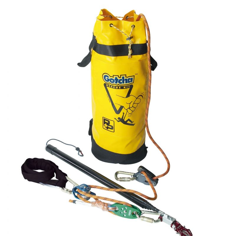 P+P Gotcha Kit 90293-150 150M Rescue System