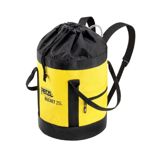 Petzl BUCKET Fabric pack remains upright