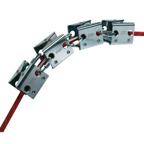 Petzl ROLL MODULE Articulated rope protector with rollers