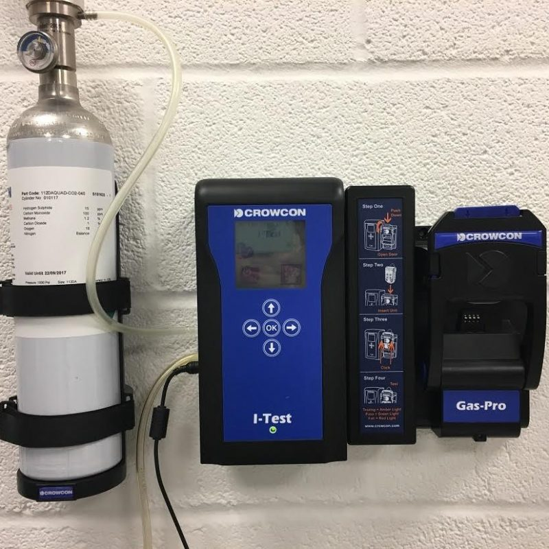 Crowcon Gas-Pro I-Test Calibration Equipment