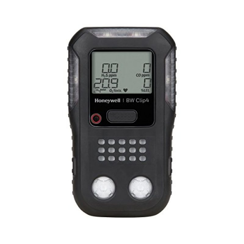 Honeywell BW Clip4 Multi Gas Detector-Black