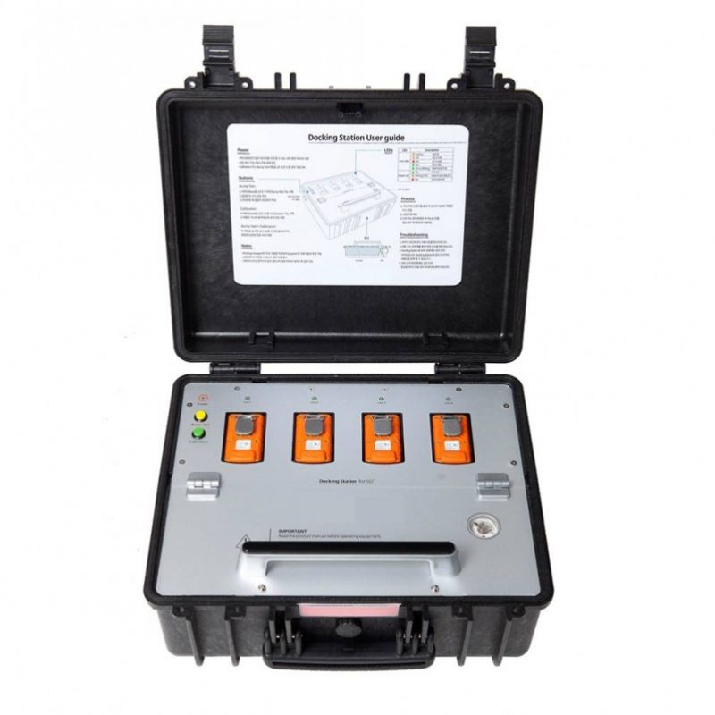 Crowcon Clip SGD Bump Test Calibration Station