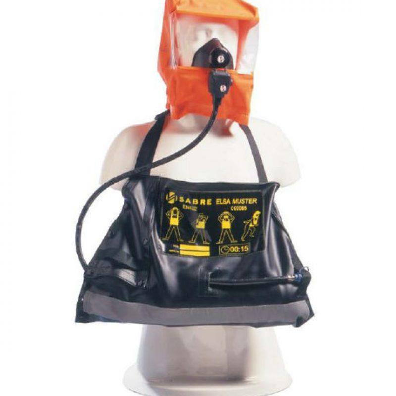 3M Scott ELSA-Muster-15-PPH-Composite Positive Pressure Emergency Escape Set