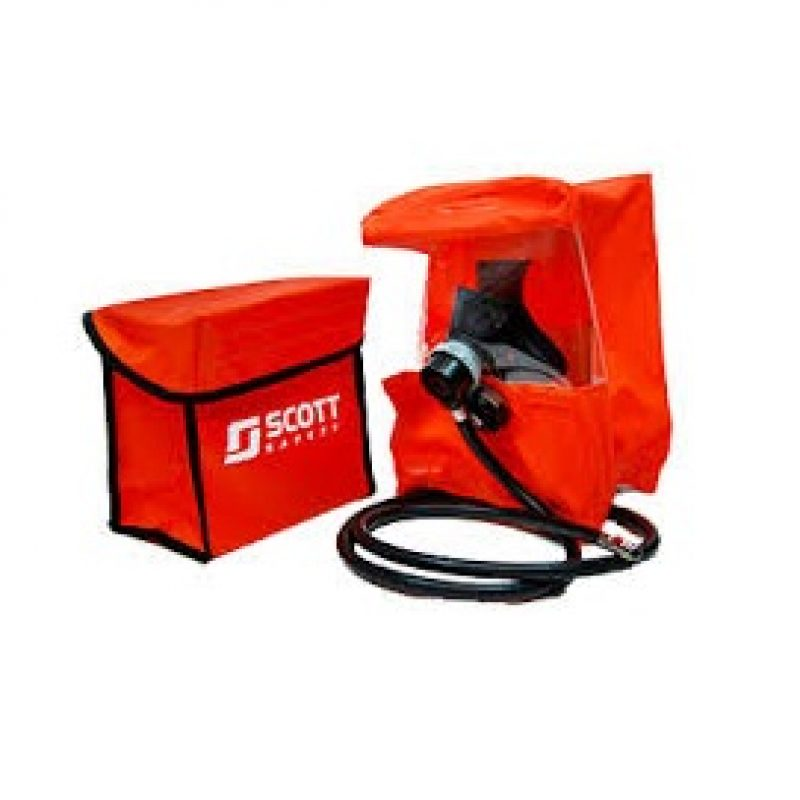3M Scott Rescue Kit Constant Flow Rescue Hood