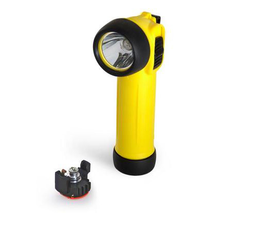 Wolf Safety TR-30+ ATEX LED Right Angled Torch