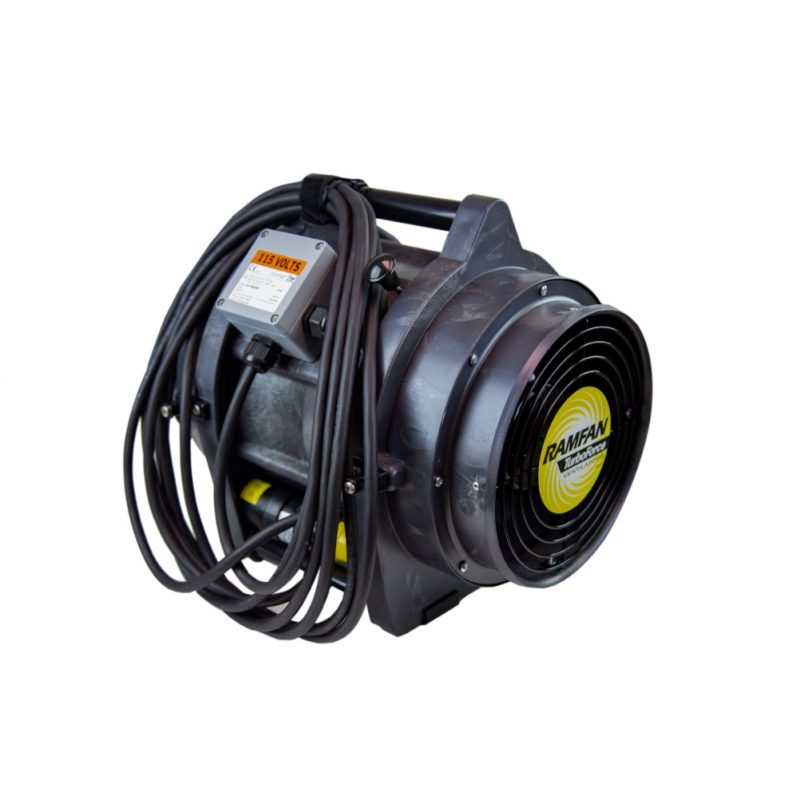 Wolf Safety VF-UB20 ATEX 20cm Portable Ventilator