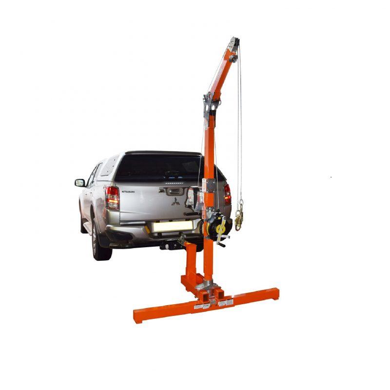 Tuff Built Vehicle Hitch Mount Davit System