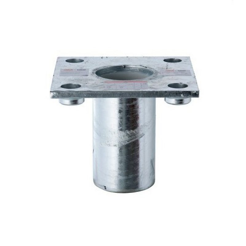 3M DBI-SALA HC Galvanised Steel Flush Core Mount Davit Base