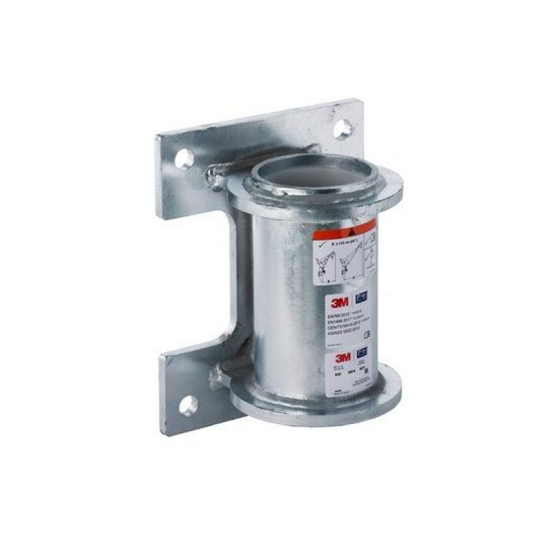 3M DBI-SALA HC Galvanised Steel Wall Mount Davit Base