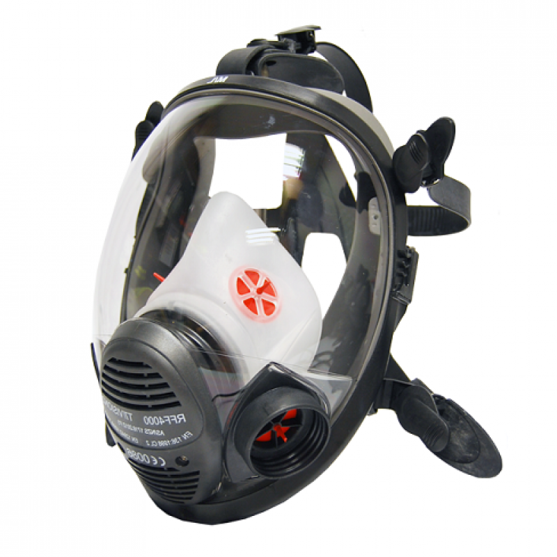 3M Scott 2 VISION RFF4000 Medium Negative Pressure Full Face Respirator
