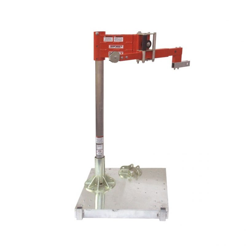 Tuff Built Horizontal Entry Davit Clamp Assembly Base