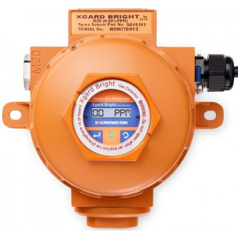 Crowcon Xguard Bright Fixed Gas Detector