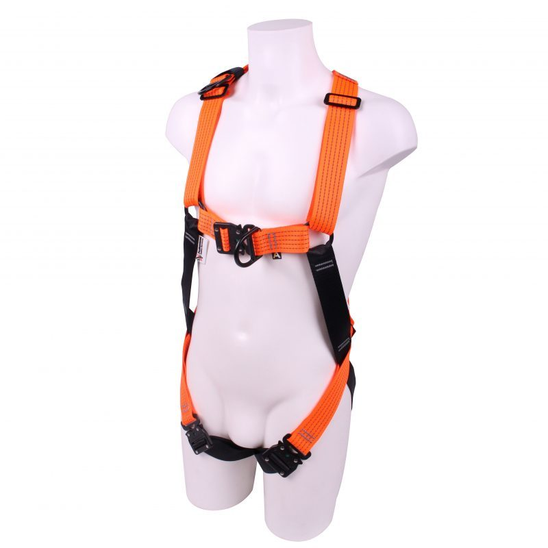 Ridgegear RGH5-Glow-FastFit-XL Rescue Harness (Extra Large)