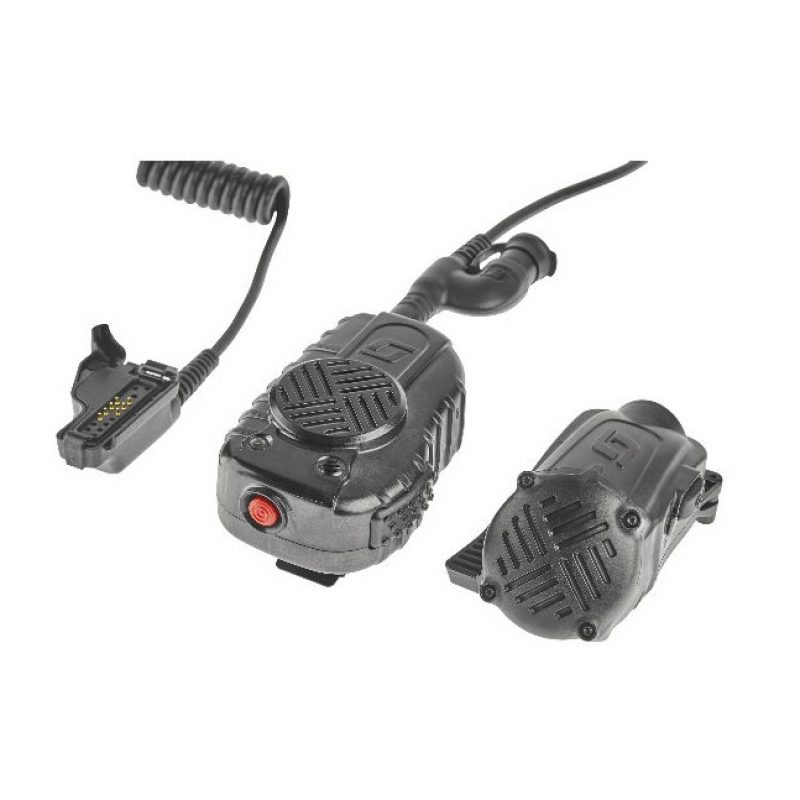 3M Scott EPIC 3 Motorola Bluetooth LSM Harris P5400/7300 / Unity & XG Series Lapel Speaker Microphone