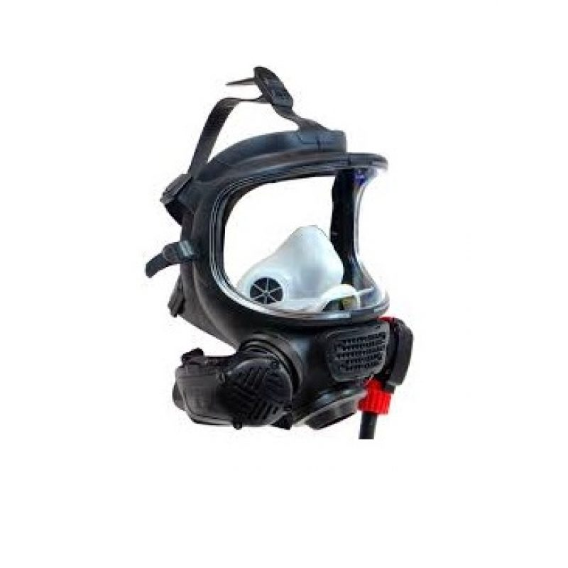 Scott AV3000 SCBA Facepiece Mask MEDIUM w//Comm Bracket